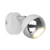 Zuma Line GASTER WALL GU16016-1R-WH reflektorek GU10 biały/srebrny
