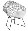 King Home Fotel VOLIER SOFT czarne / poduszka biała RABATY w koszyku, żarówka/żarówki LED gratis!