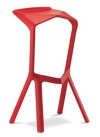 King Home Hoker MIURA PREMIUM czerwony polipropylen RABATY w koszyku, żarówka/żarówki LED gratis!