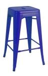 King Home Hoker TOWER 66cm c.niebieski metal RABATY w koszyku, żarówka/żarówki LED gratis!