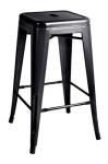 King Home Hoker TOWER 66cm czarny metal RABATY w koszyku, żarówka/żarówki LED gratis!