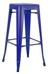 King Home Hoker TOWER 76cm c.niebieski metal RABATY w koszyku, żarówka/żarówki LED gratis!