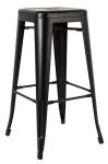 King Home Hoker TOWER 76cm czarny metal RABATY w koszyku, żarówka/żarówki LED gratis!