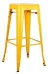 King Home Hoker TOWER 76cm żółty metal RABATY w koszyku, żarówka/żarówki LED gratis!