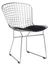 King Home Krzesło NET SOFT chrom czarna poduszka RABATY w koszyku!