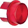 Akcesoria osprzęt Klosz do sygnalizatora świetlnego E10, czerwony przezroczysty