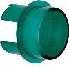 Akcesoria osprzęt Klosz do sygnalizatora świetlnego E10, zielony przezroczysty