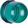 Akcesoria osprzęt Klosz do sygnalizatora świetlnego E14, wysoki, zielony przezroczysty