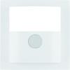 B.3/B.7 Płytka czołowa do kompaktowego czujnika ruchu, biały, mat