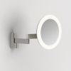Astro lustro LED Niimi Round 5,2W 24,09lm 3000K Ø25cm nikiel mat IP44 1163003, RABATY w koszyku, żarówka/żarówki LED gratis!