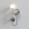 Astro lustro Orb G9 chrom IP44 1424001, RABATY w koszyku, żarówka/żarówki LED gratis!